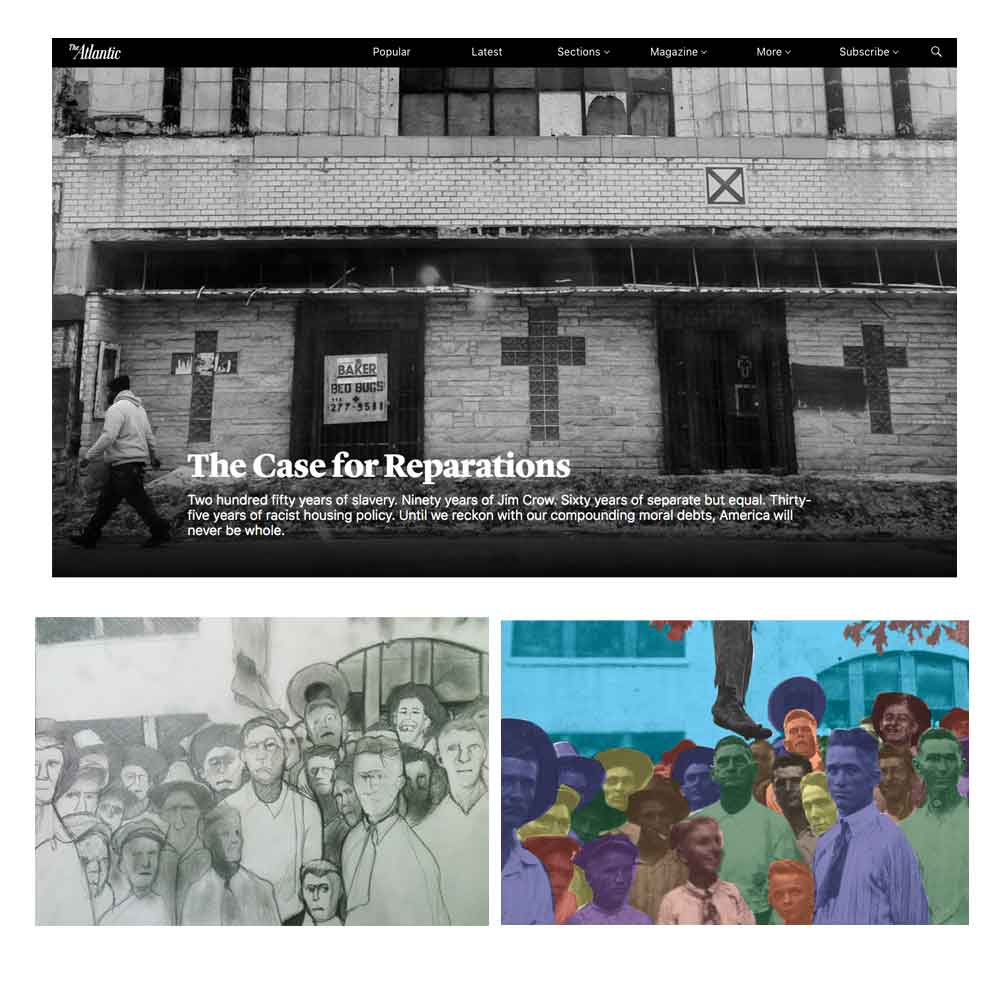 The Lifesavers, A.C. Evans, Ta-Nehisi Coates, The Case for Reparations