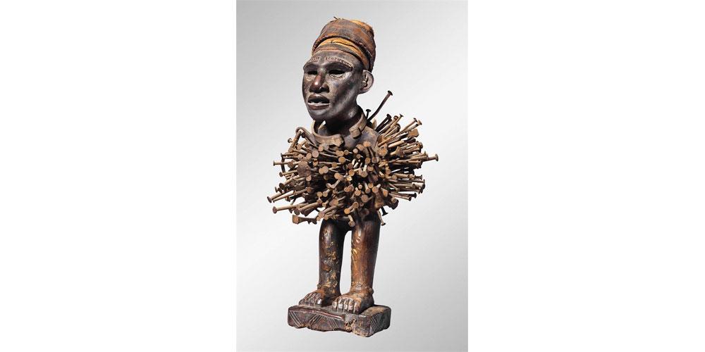 Nkisi Power Figure, A.C. Evans, MythoFutuRiddim, Curator